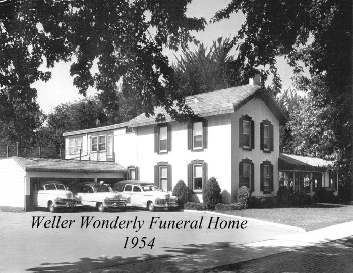 Our History Wonderly Horvath Hanes Funeral Home