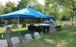 gravesdie service